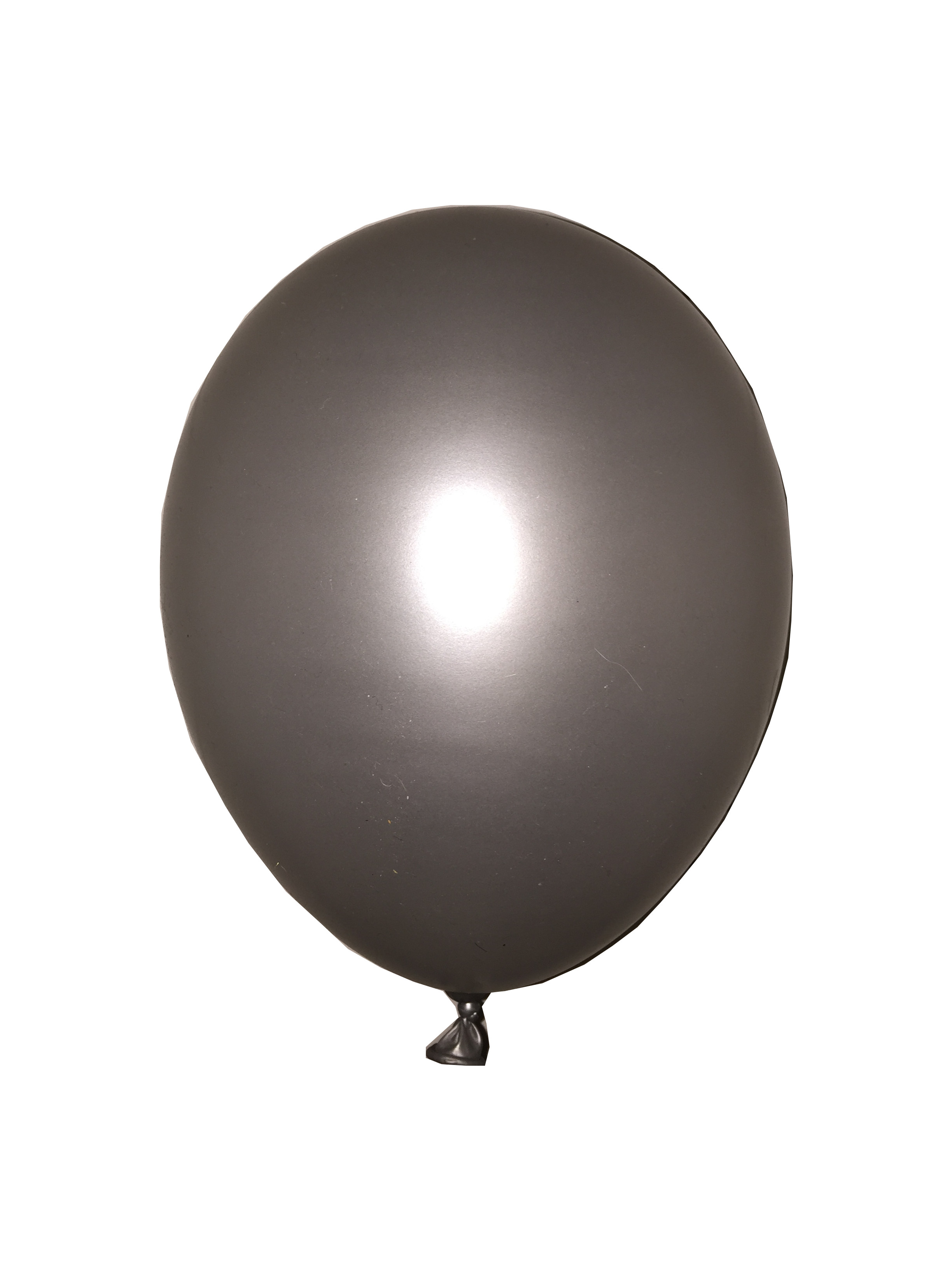 Ballon grijs metallic