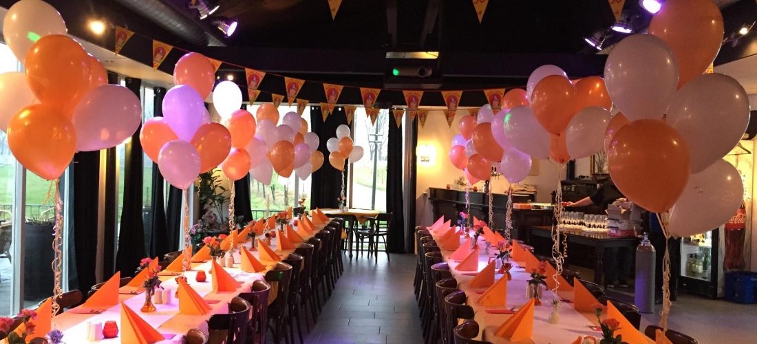 Helium ballon decoratie